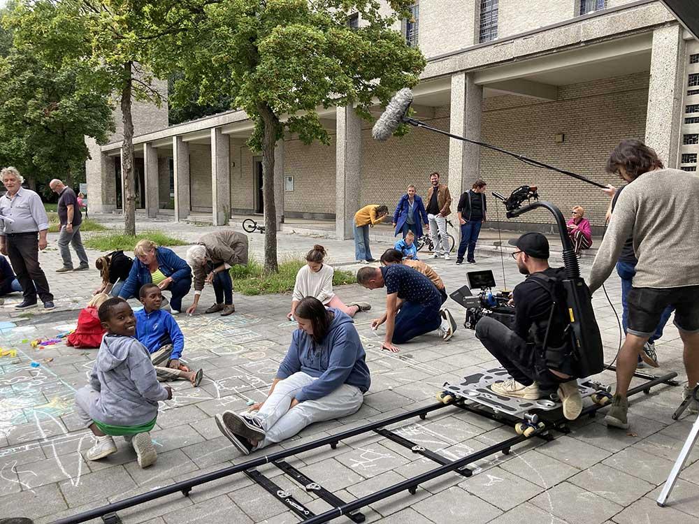 Art Direction - tv-spot - Nieuw Gent - making off